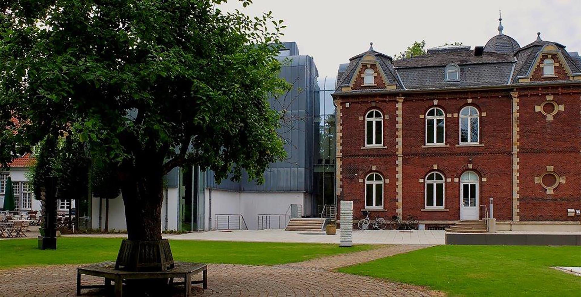 Kunstmuseum Ahlen Gartenansicht
