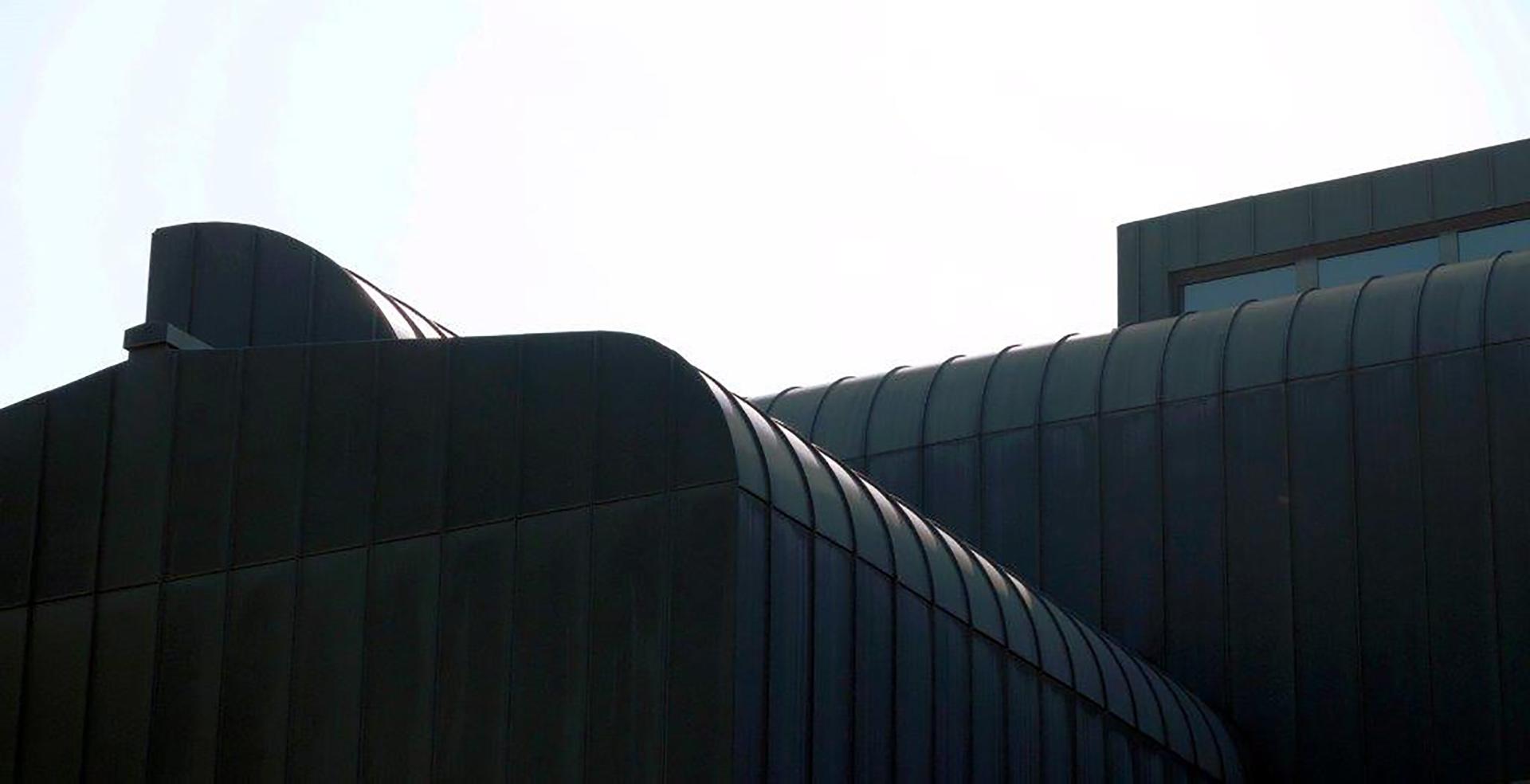 Kunstmuseum Ahlen Tonnendachansicht