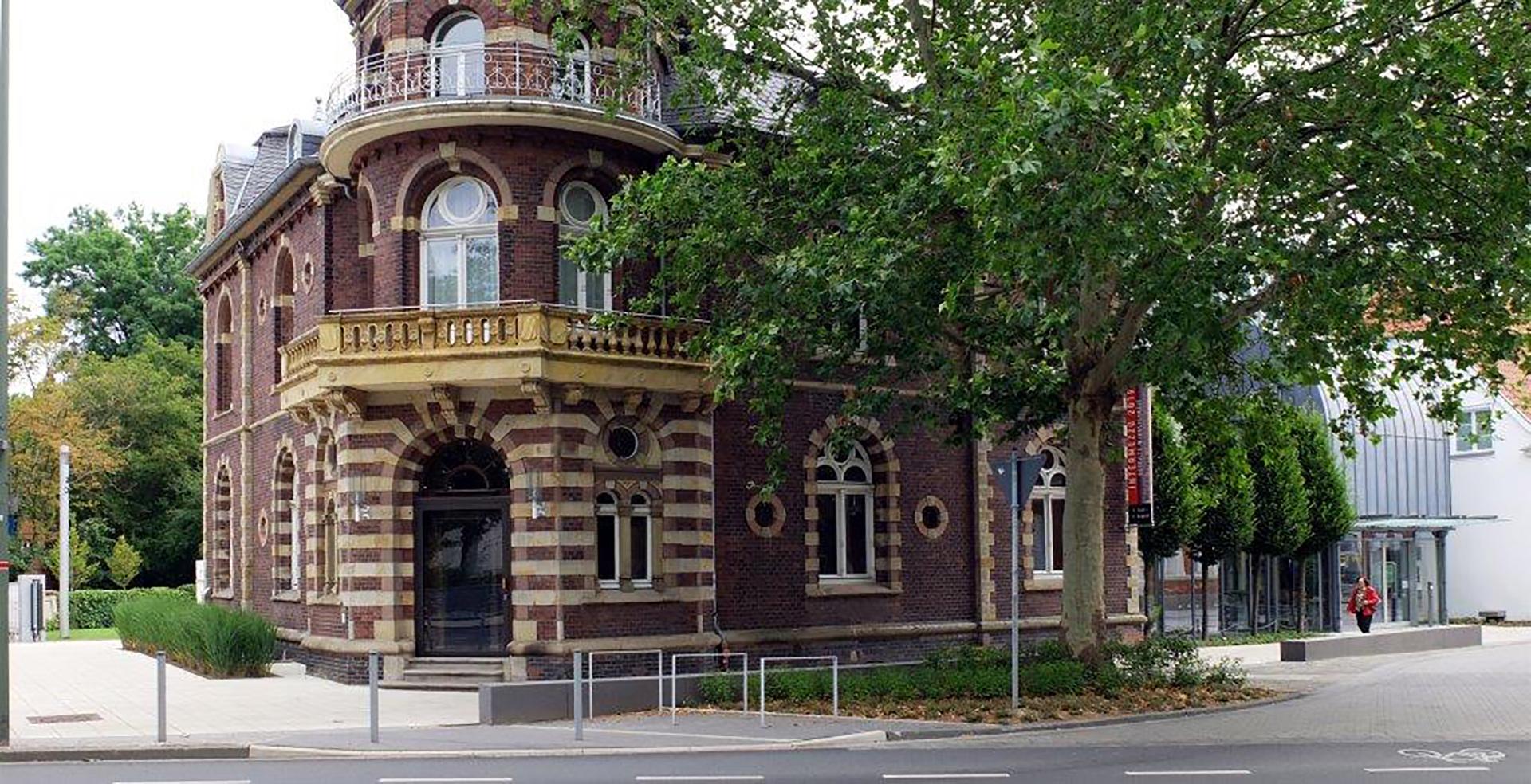 Kunstmuseum Ahlen Vorderansicht Eingang