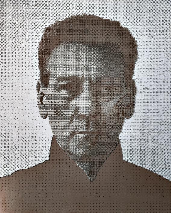 Andreas Horlitz - CONTERFEY, 2011 | Platindruck und hinterlegter Spiegel | 77 x 62 cm | © VG Bild-Kunst, Bonn 2019
