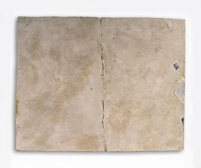 Eduard Micus - o.T., 1952 | Öl auf Pappe | 40 x 50 cm