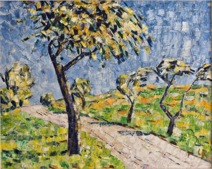 Christian Rohlfs - Herbstlandschaft, 1911 | Öl auf Leinwand | 100 x 80 cm