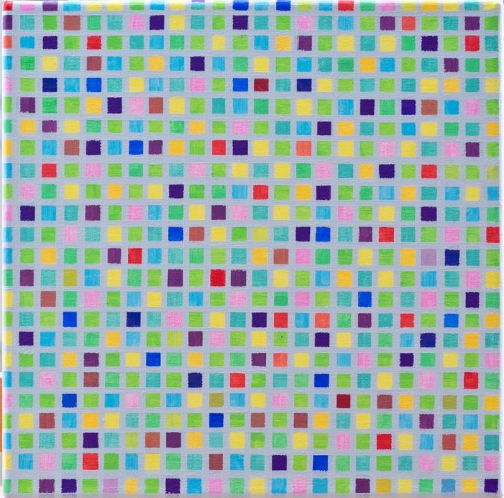 Susanne Lyner - 2003/21, 2003 | Acryl auf Leinwand | 30 x 30 cm