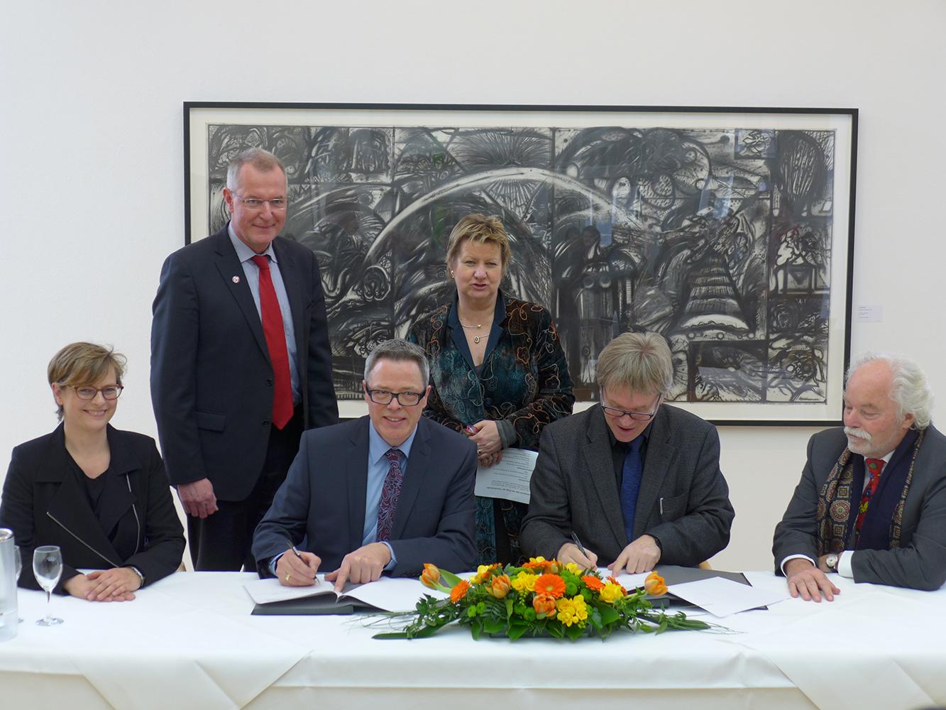 Kunstmuseum Ahlen | Unterzeichnung Kooperationsvertrag