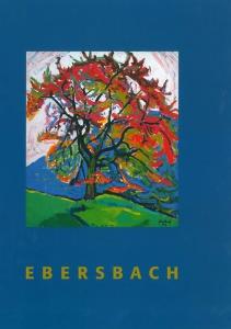 Herbert Ebersbach | Transformation der Farbe | Katalog