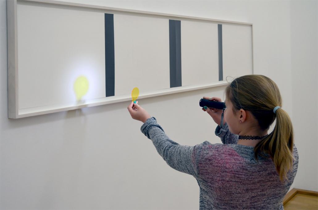 Licht Workshop in der Sammlung Schroth