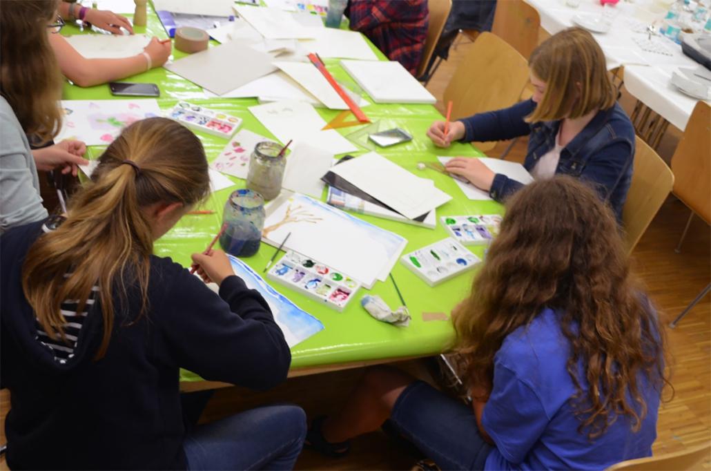 Schulklassen im Kunstmuseum Ahlen