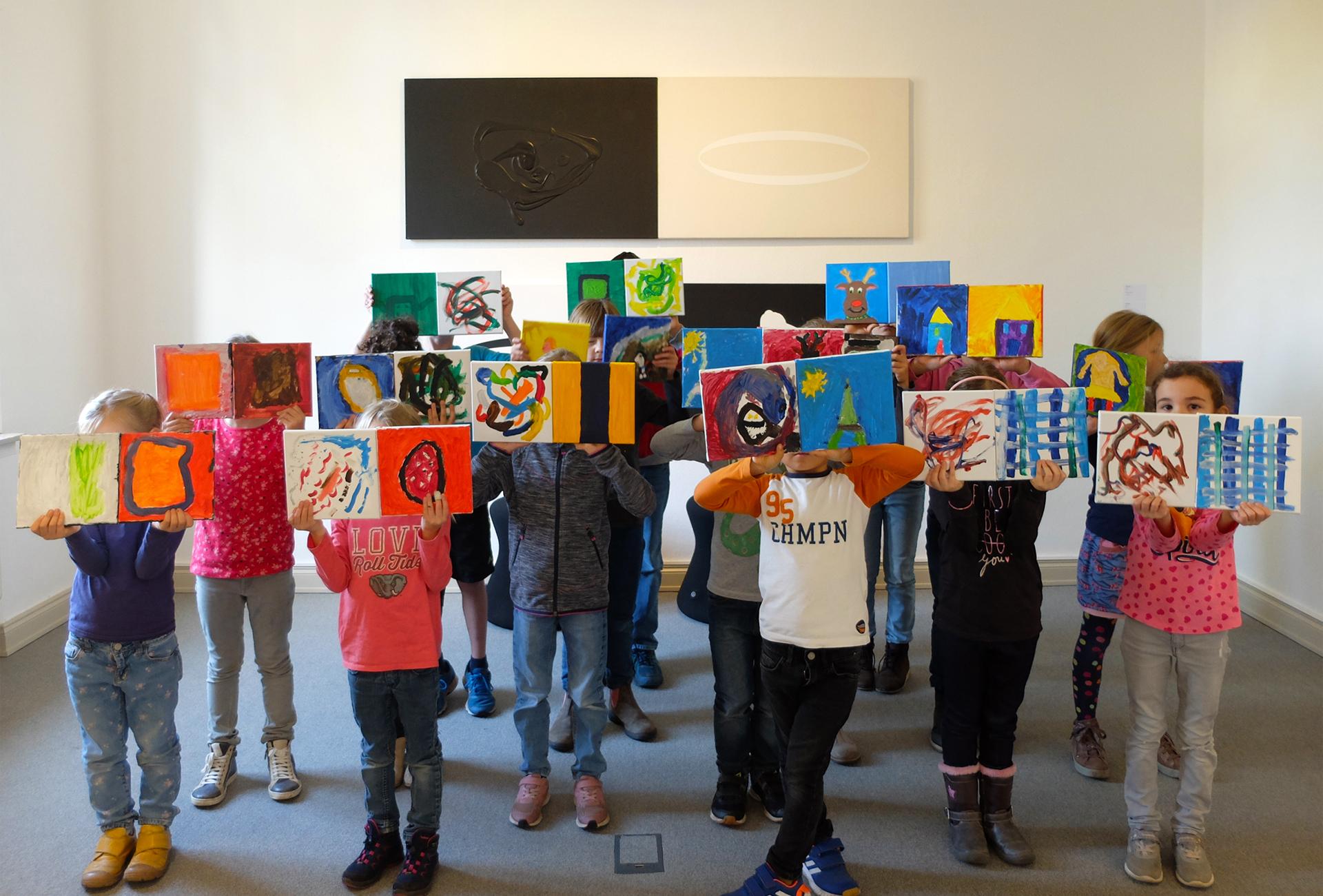 Kunstmuseum Ahlen | Ferien-Malschule 10.2019 2 b |