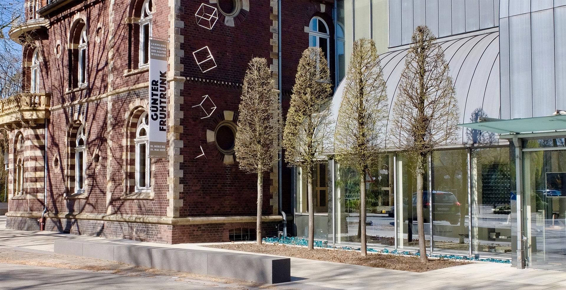 Kunstmuseum Ahlen | Eingangsbereich | Außenansicht 2019
